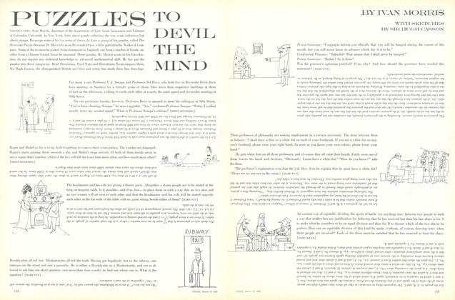 Puzzles to Devil the Mind