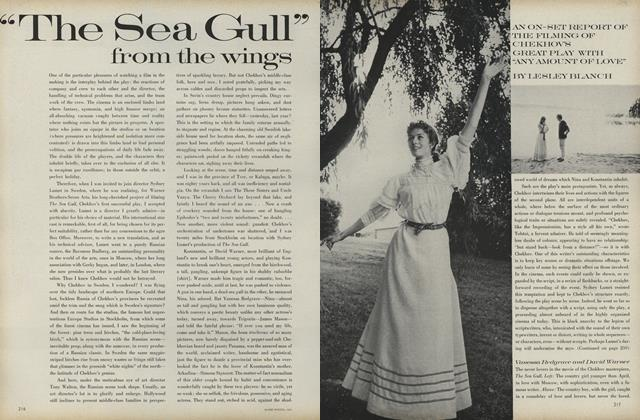 "Article Preview: ""The Sea Gull"" From the Wings, April 1 1969 