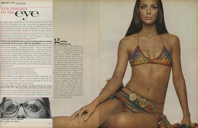 Article Preview: New Insights On the Eye, April 1 1969 | Vogue