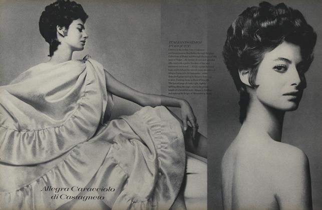 Article Preview: Allegra Caracciolo di Castagneto, April 1 1969 | Vogue