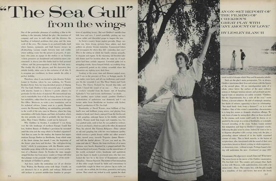 """The Sea Gull"" From the Wings"