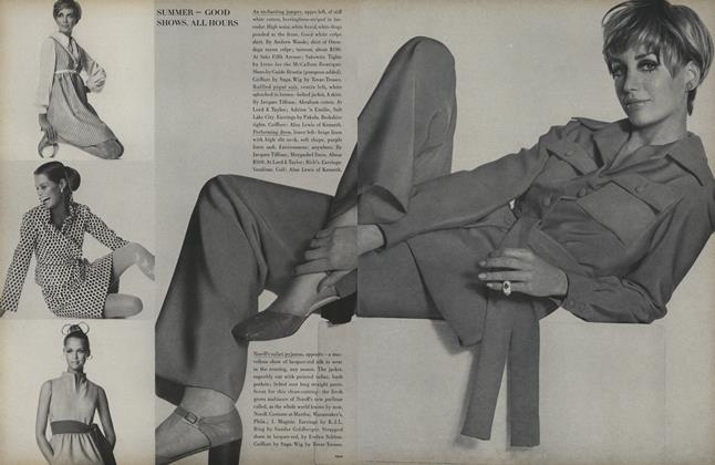Article Preview: Summer - Good Show, All Hours, April 15 1969 | Vogue