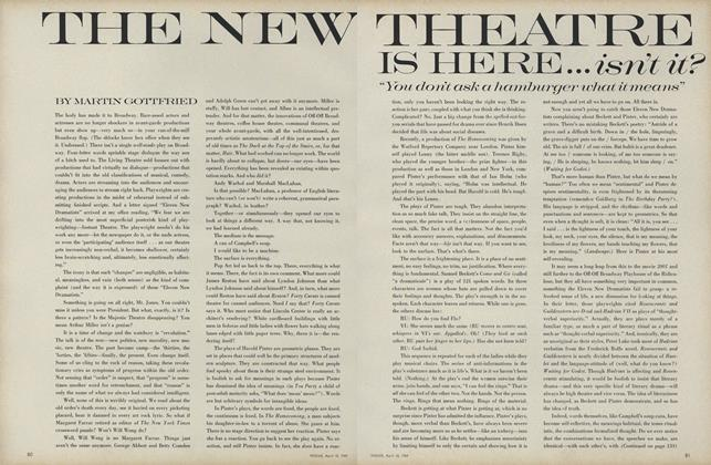 Article Preview: The New Theatre Is Here,...Isn't It?, April 15 1969 | Vogue