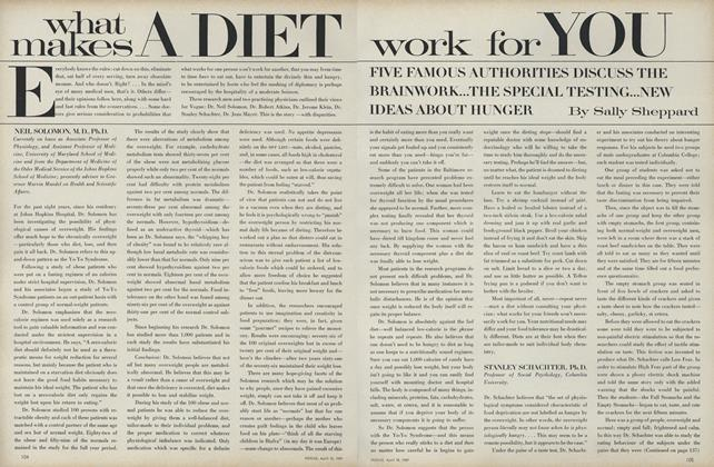 Article Preview: What Makes a Diet Work for You, April 15 1969 | Vogue