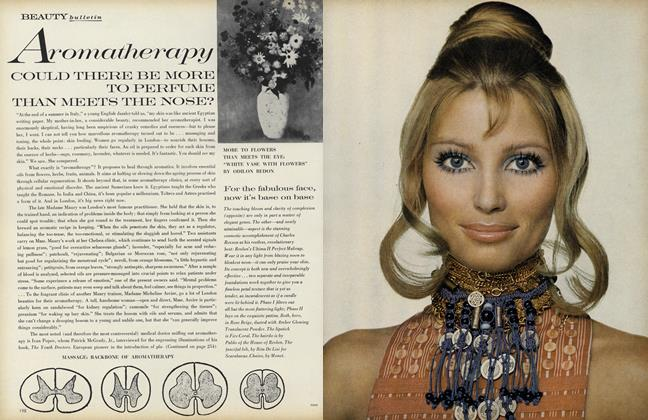 Article Preview: Aromatherapy, May 1969 | Vogue