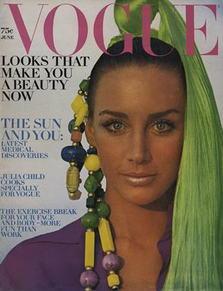 Cover for the June 1969 issue