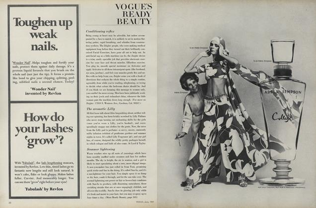 Article Preview: Vogue's Ready Beauty, June 1969 | Vogue