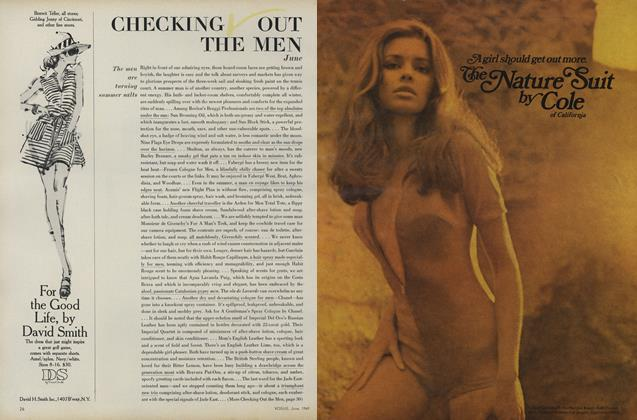 Article Preview: Checking Out the Men, June 1969 | Vogue