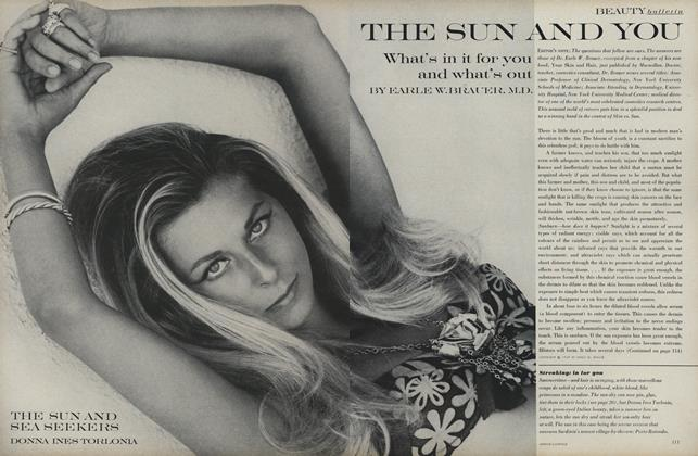 Article Preview: Beauty Bulletin: The Sun and You, June 1969 | Vogue