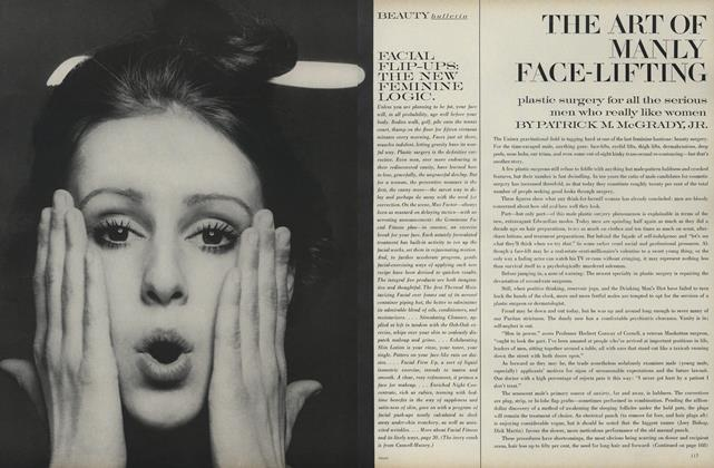 Article Preview: The Art of Manly Face-Lifting, June 1969 | Vogue