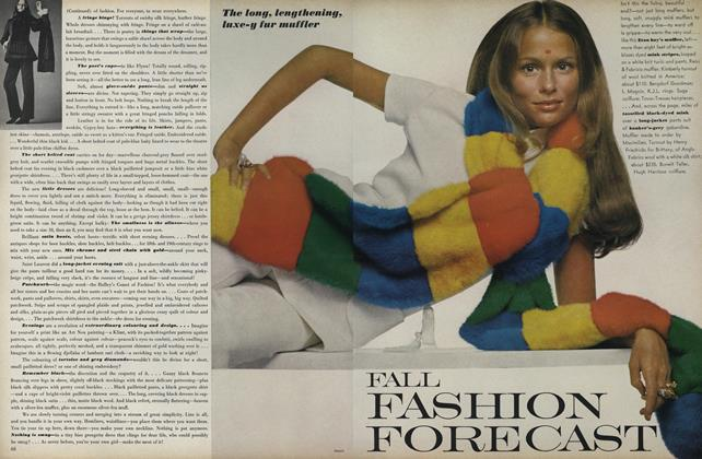 Article Preview: Fall Fashion Forecast, July 1969 | Vogue
