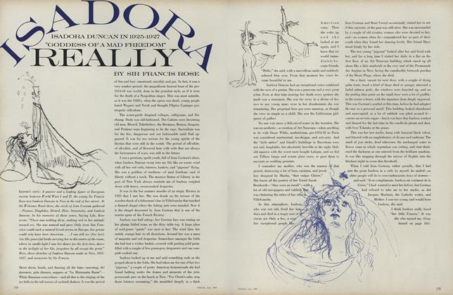 Article Preview: Isadora Really, July 1969 | Vogue