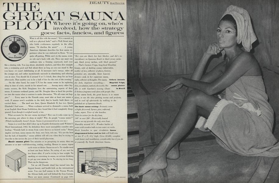 Beauty Bulletin: The Great Sauna Plot
