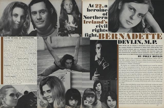 Article Preview: At 22, A Heroine of Northern Ireland's Civil Rights Fight, Bernadette Devlin, M.P., August 1 1969 | Vogue