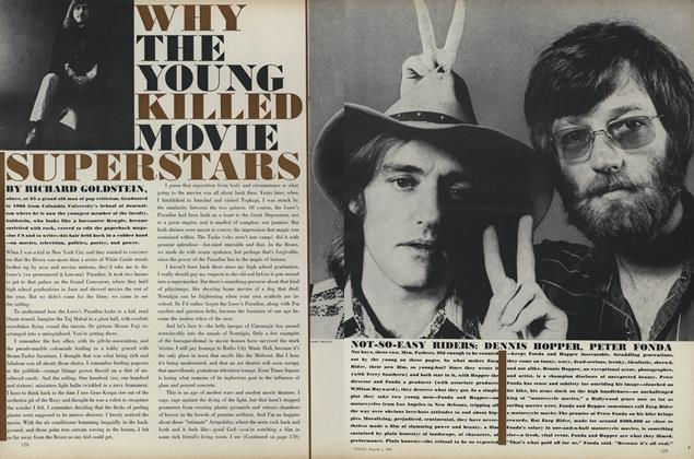 Article Preview: Why the Young Killed Movie Superstars, August 1 1969 | Vogue