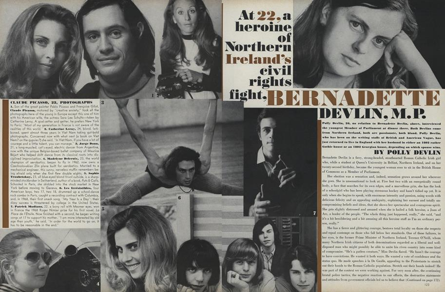 At 22, A Heroine of Northern Ireland's Civil Rights Fight, Bernadette Devlin, M.P.