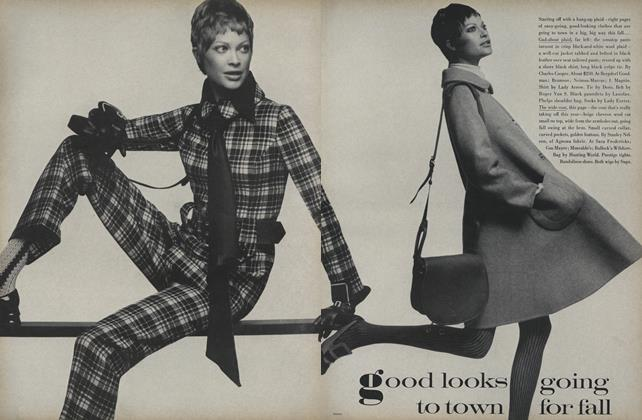 Article Preview: Good Looks Going To Town for Fall, August 15 1969 | Vogue