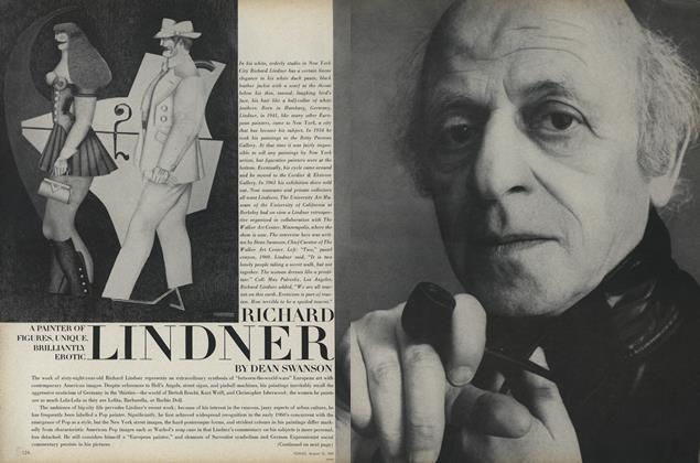 Article Preview: Richard Lindner, August 15 1969 | Vogue