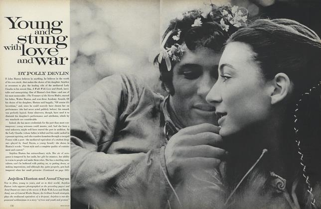 Article Preview: Young and Stung with Love and War, September 15 1969 | Vogue