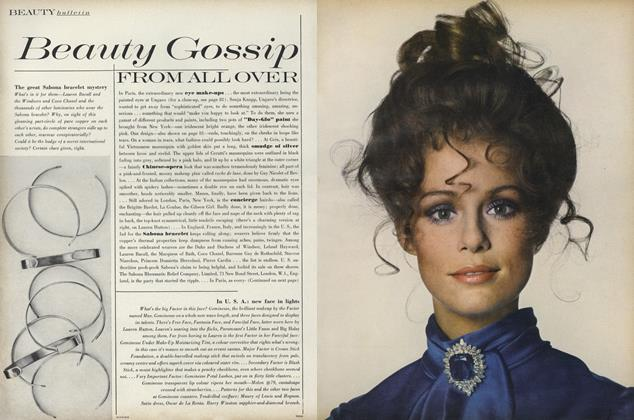 Article Preview: Beauty Gossip from All Over, September 15 1969 | Vogue