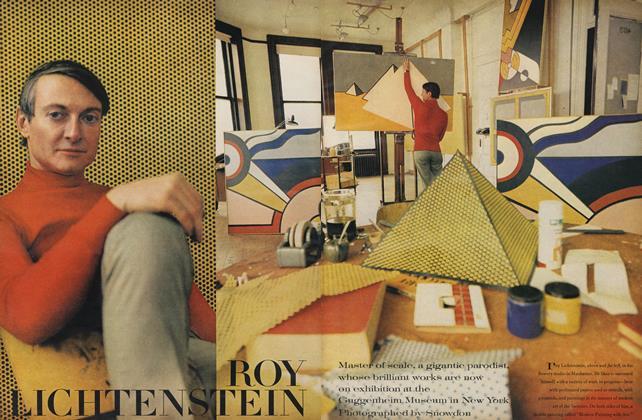 Article Preview: Roy Lichtenstein, September 15 1969 | Vogue