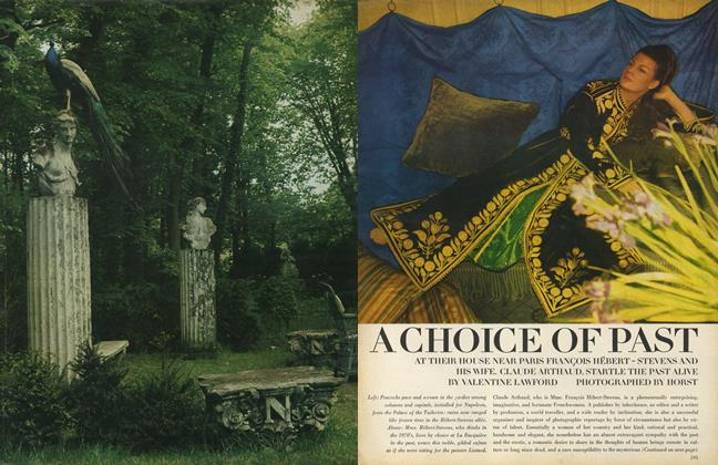 Article Preview: A Choice of Past, October 1 1969 | Vogue