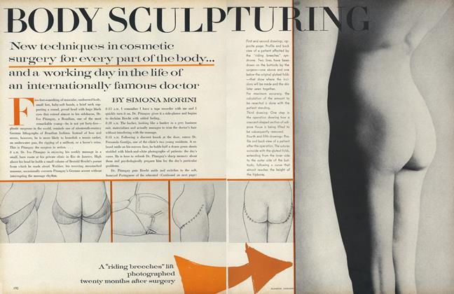 Article Preview: Body Sculpturing, October 1 1969 | Vogue
