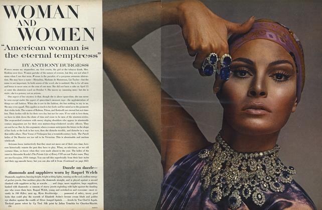 "Article Preview: Woman and Women, ""American Woman Is the Eternal Temptress"", October 1 1969 
