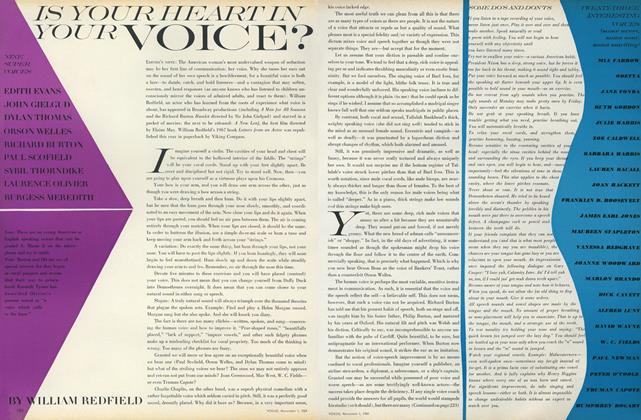 Article Preview: Is Your Heart in Your Voice, November 1 1969 | Vogue