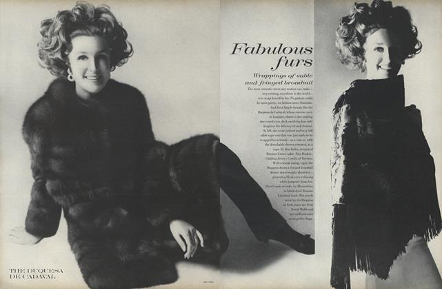Article Preview: Fabulous Furs, November 1 1969 | Vogue