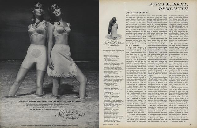 Article Preview: Supermarket, Demi-Myth, November 15 1969 | Vogue