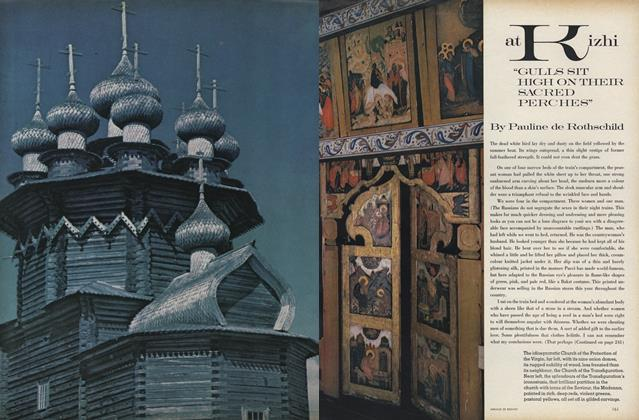 "Article Preview: At Kizhi, ""Gulls Sit High On Their Sacred Perches"", December 1969 