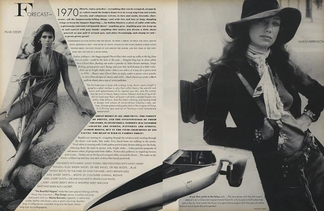 Fashion Forecast: 1970