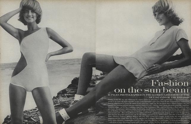 Fashion on the Sun Beam