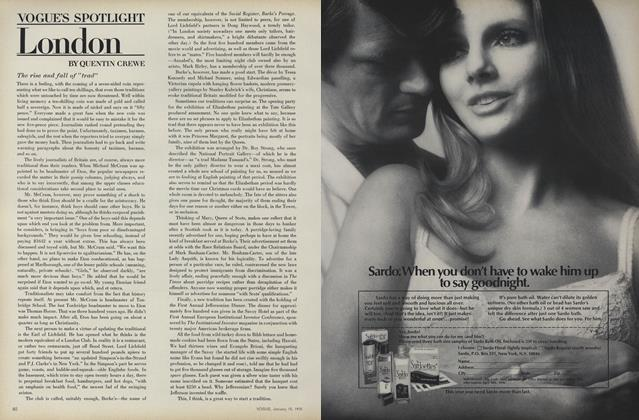 Vogue's Spotlight: London