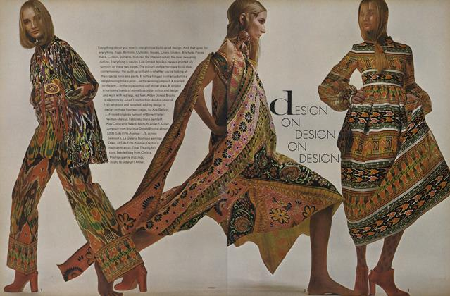 Design on Design on Design--The Fashion for Mixing Prints, Textures, Colour