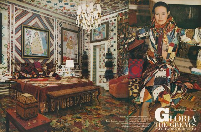 Gloria the Great's Patchwork Bedroom