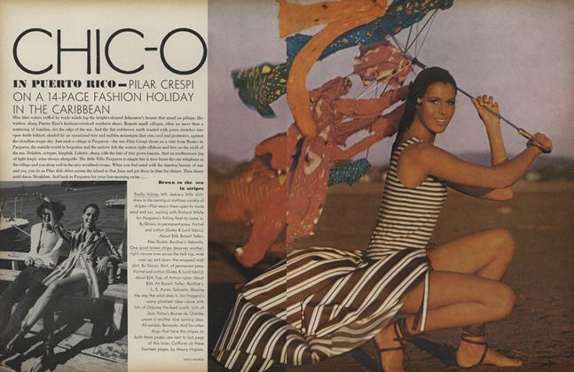 Chic-O in Puerto Rico—Pilar Crespi on a Fashion Holiday in the Caribbean