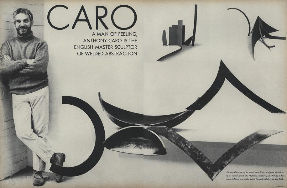 Caro: A Man of Feeling, Anthony Caro is the English Master Sculptor of Welded Abstraction