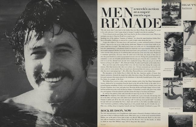 Men Remade: A Week's Action at a Super Men's Spa