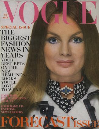 Cover for the July 1970 issue