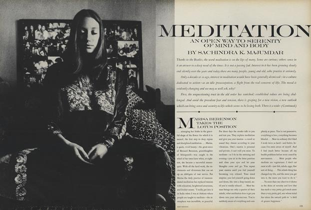 Meditation: An Open Way to Serenity of Mind and Body