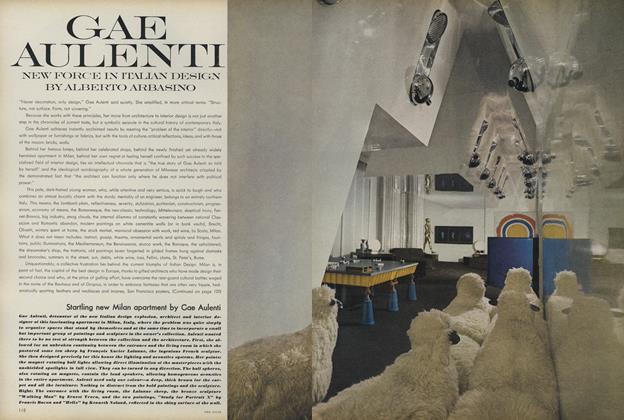 Gae Aulenti: New Force in Italian Design