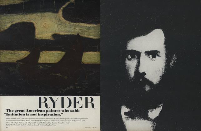 """Student of the Night""—Albert Pinkham Ryder"