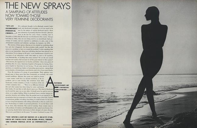 Beauty Bulletin: The New Sprays