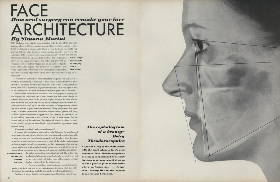 Face: How Oral Surgery Can Remake Your Face Architecture