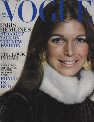 Cover for the September 15 1970 issue