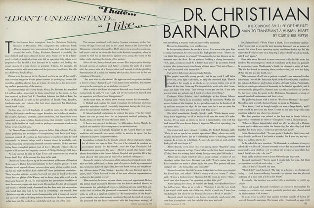 Dr. Christiaan Barnard: The Curious Split Life of the First Man to Transplant a Human Heart