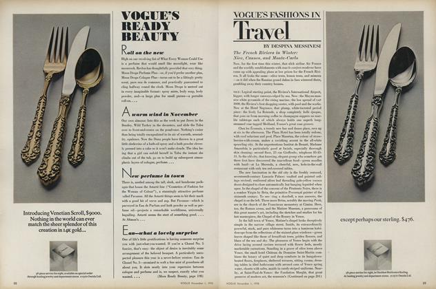 Vogue's Fashions in Travel