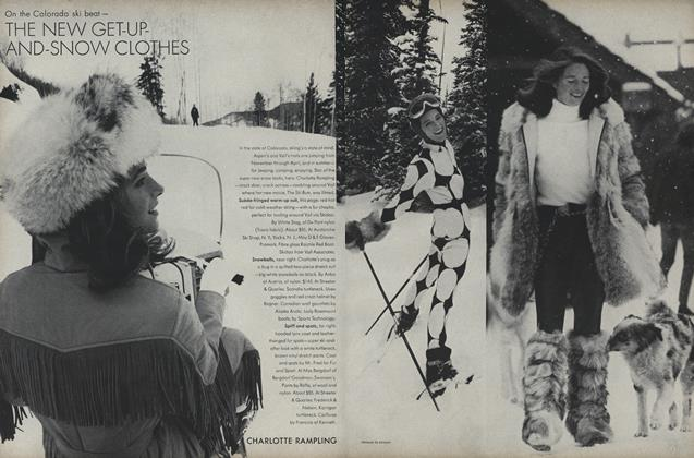 The New Get-Up-and-Snow Clothes: Charlotte Rampling and Suzy Chaffee